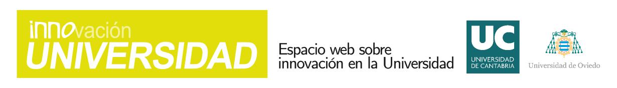 Espacio web sobre innovación en la universidad.